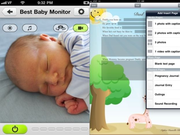 10 best baby apps for new parents from baby monitors to lullabies baby plans pinterest. Black Bedroom Furniture Sets. Home Design Ideas