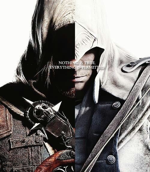 edward kenway and connor relationship goals
