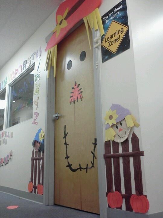 Classroom Door Decoration Ideas For October : Best ideas about fall classroom door on pinterest