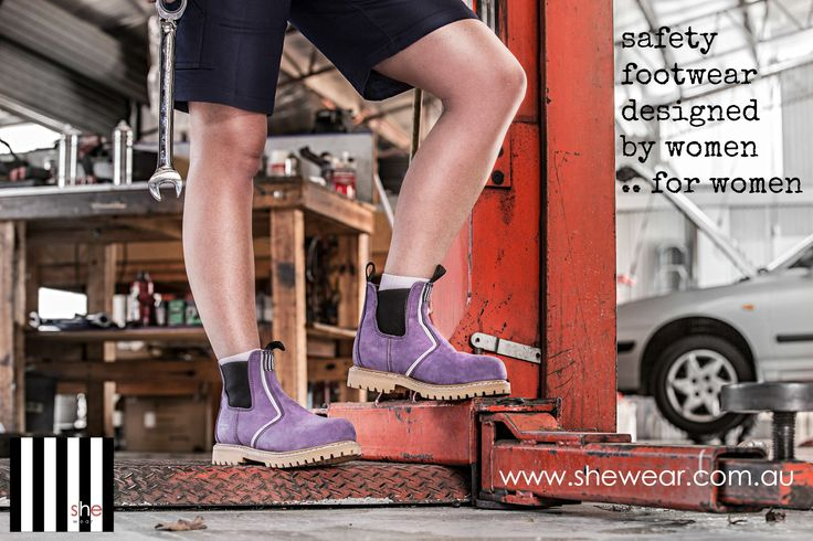 """Our """"she will"""" range available in imperial purple, hot pink and ocean blue."""