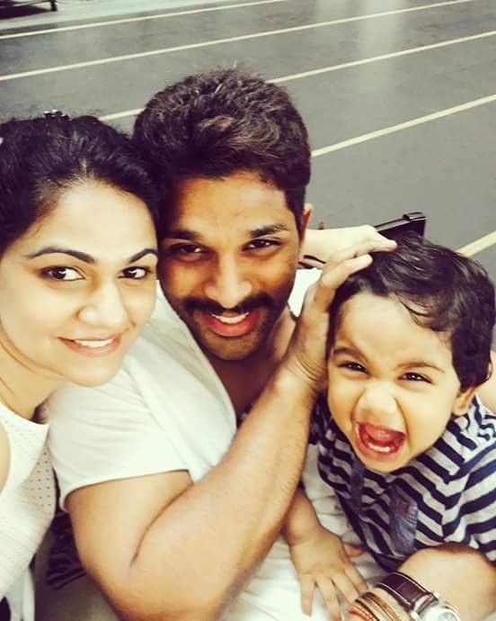 Telugu superstar Allu Arjun just announced that he is expecting his second child with his wife Sneha Reddy. | There Is Nothing Cuter Than The Pregnancy Announcement Allu Arjun Made On Twitter