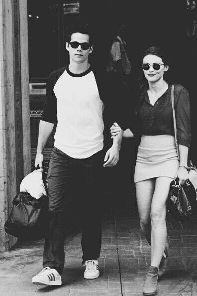 One of the best pictures of #stydia #hollandroden #dylano'brien