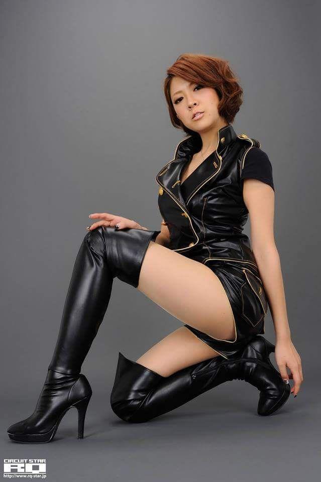 Asian Women In Leather