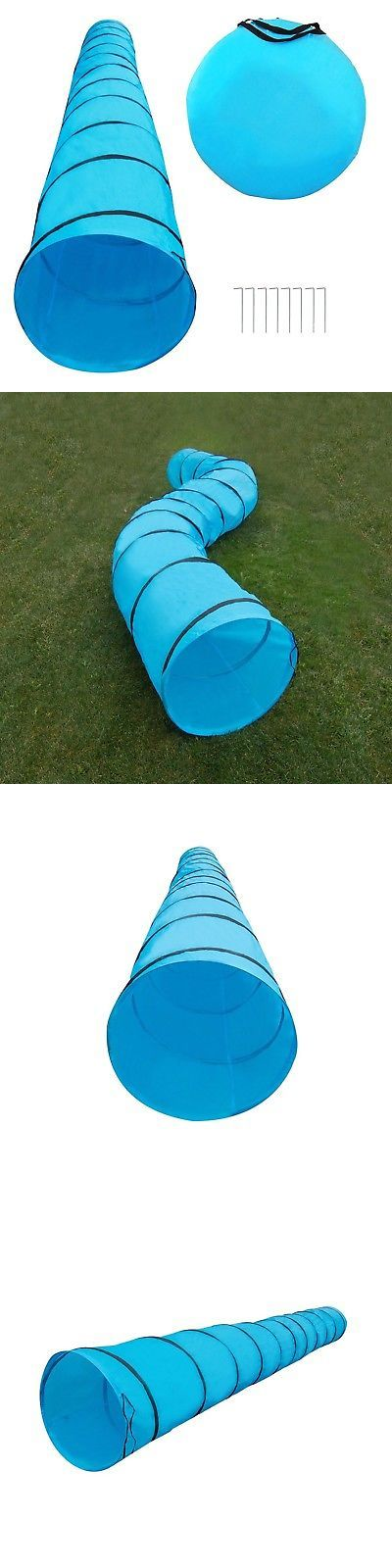 Agility Training 116383: Houseables Dog Tunnel Agility Equipment 18 Ft Long 24 Open Blue Polyeste... New -> BUY IT NOW ONLY: $46.18 on eBay!