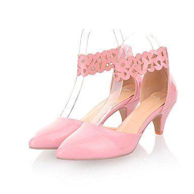 Dew Stiletto - Kunstleder - FRAUEN Absätze/Spitzschuh - Pumps / High Heels ( Schwarz/Rosa/Beige ) - http://on-line-kaufen.de/dew-hohe-fersen/dew-stiletto-kunstleder-frauen-absaetze-pumps