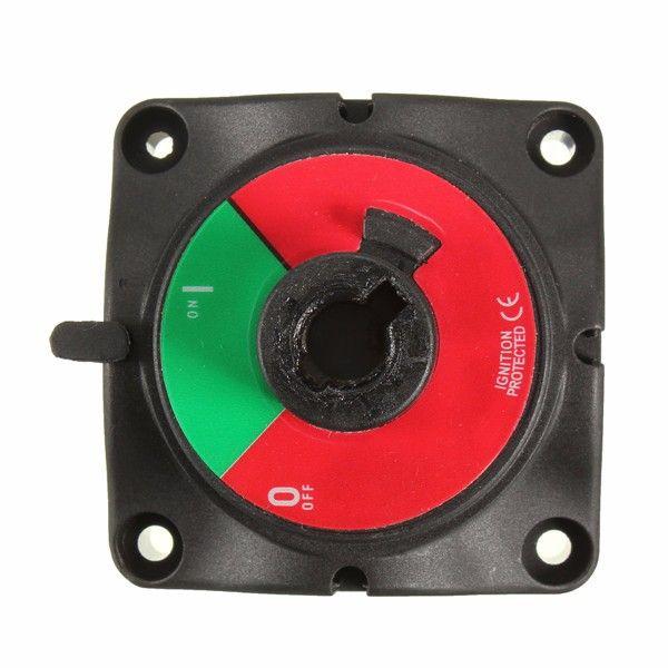 Marine Knob Battery Master Isolator Cut Off Power Kill Switch Control Knob 300 A