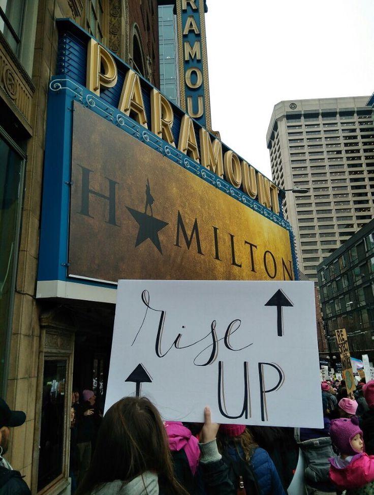 Womens March, Seattle; Jan 20 2018