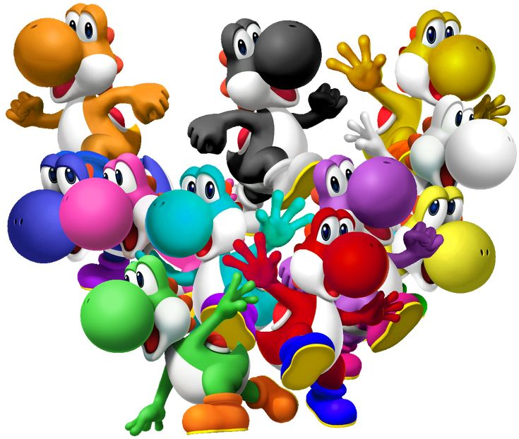 All Yoshi's <3