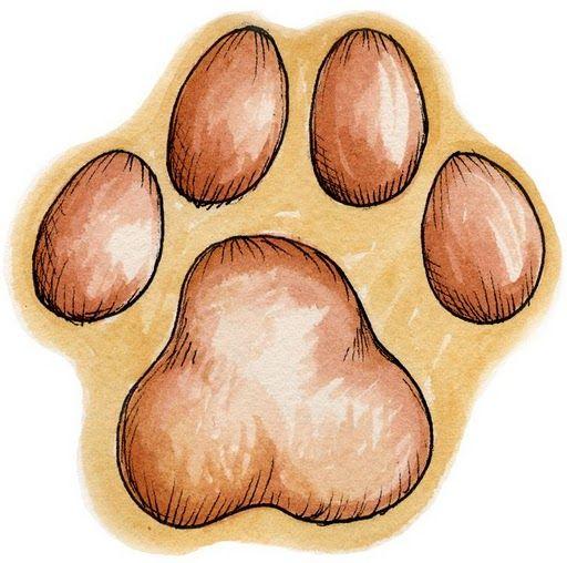 Dibujos huellas gatos para imprimir:Imagenes y dibujos para ...