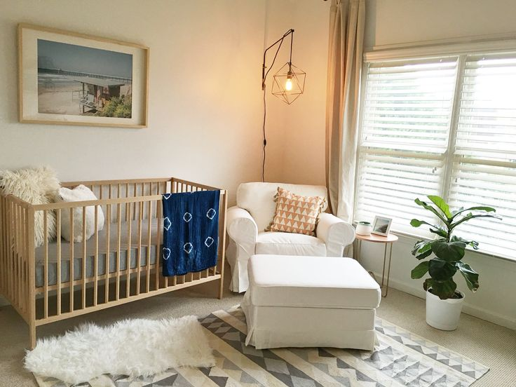 The Southern Trunk Mid Century Nursery reveal