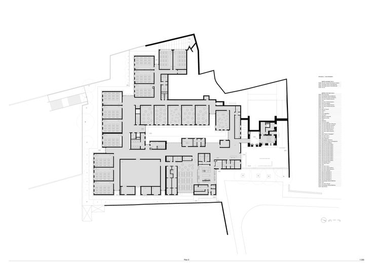 Center School S.Miguel de Nevogilde_Plan