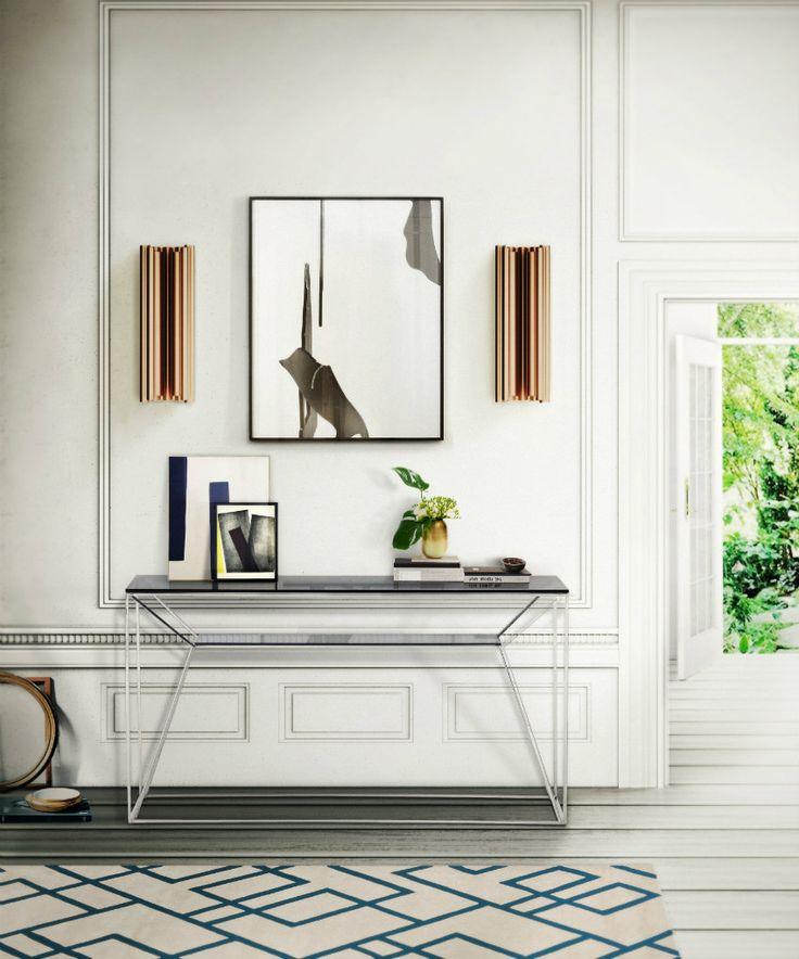 Top 10 moderne Kommoden | Metallische moderne Kommode. Wandleuchten von Delightfull. wohn-designtrend.de/