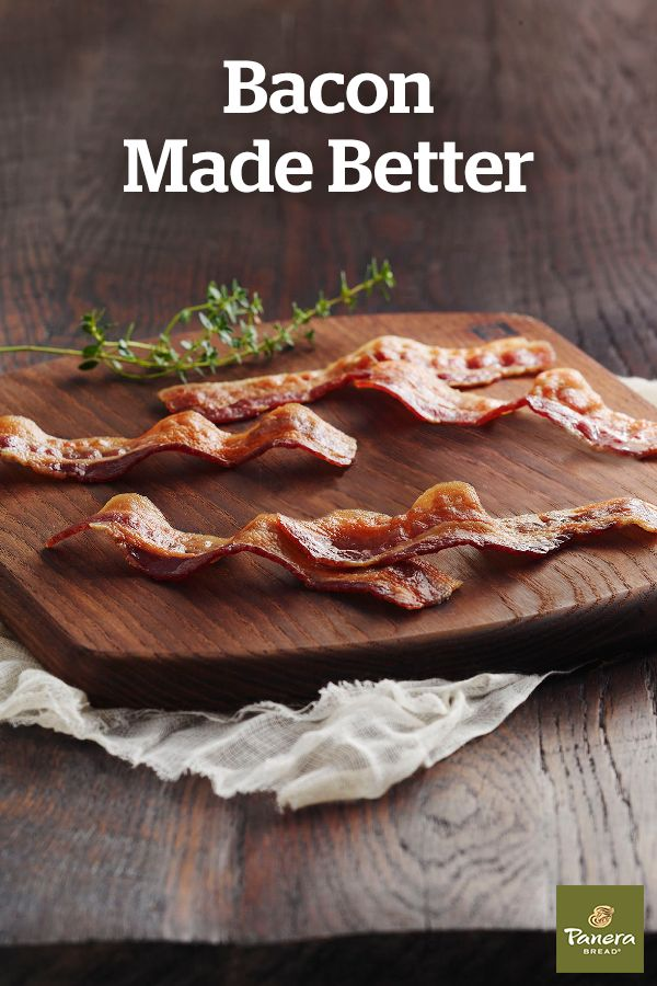 We love bacon too much to not expect the best from it. Panera head chef, Dan Kish, gives the full story on how we cleaned up our bacon—and made it tastier in just 4 steps.