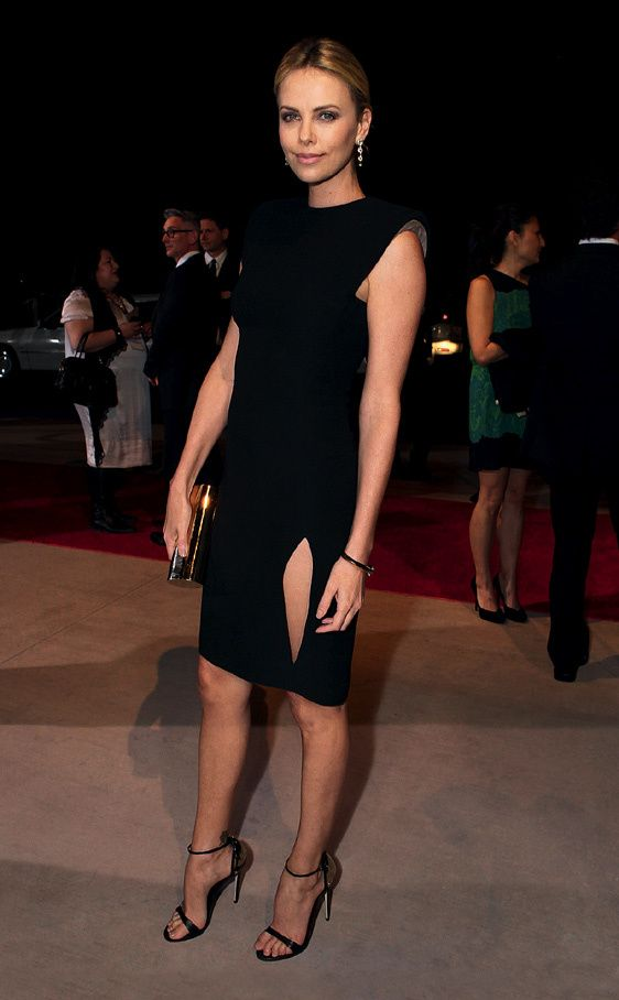 Shopping Dress for Less: Little Black Dress: Charlize Theron