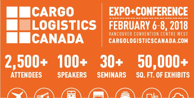 Join us at Cargo Logistics Canada 2018 (booth #617) In Vancouver!