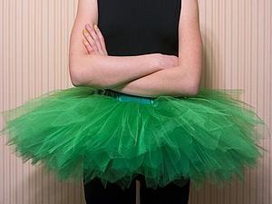 Мастер-класс: балетная пачка и пример небольшого потока | Ярмарка Мастеров - ручная работа, handmade