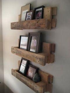 Pallet Project - Pallet Shelves