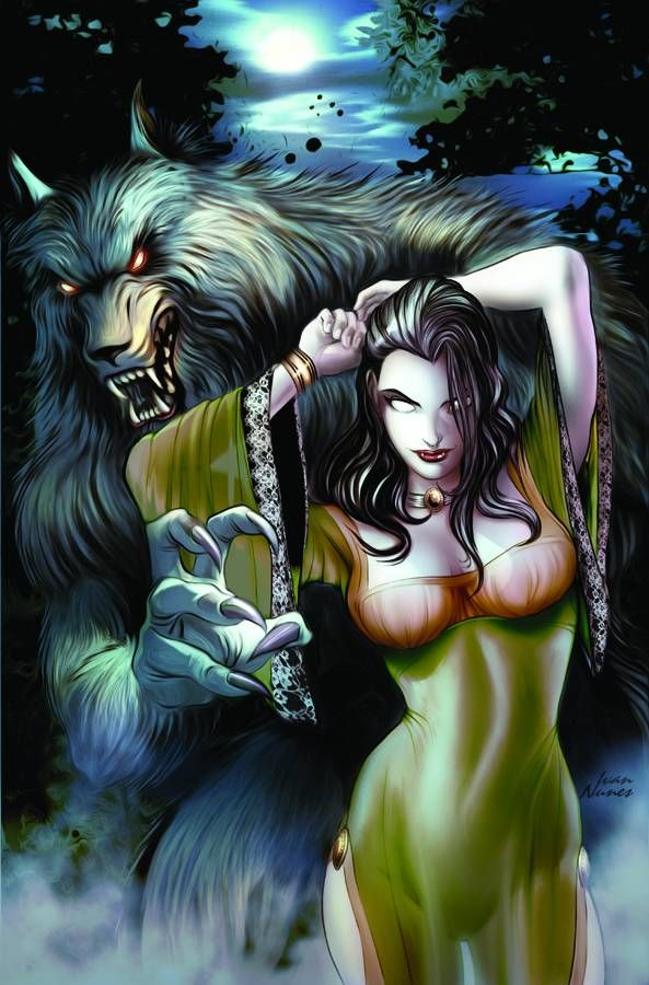 Grimm Fairy Tales present Vampires and Werewolves #TPB (Virgin Cover)