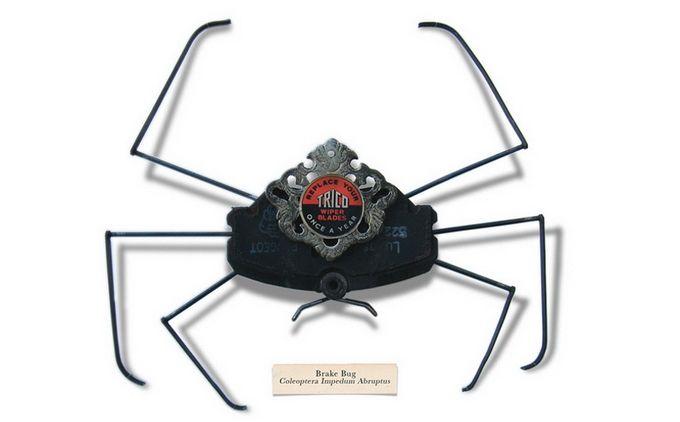 Handmade Little Bugs by Mark Oliver