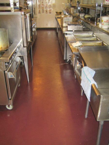 best flooring for commercial kitchen urethane mortar flooring is best options for industrial 7689