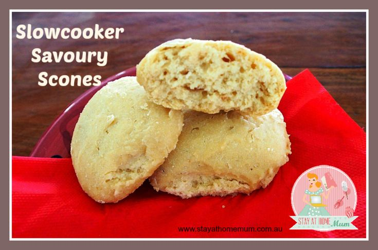Slowcooker Savoury Scones | Stay at Home Mum