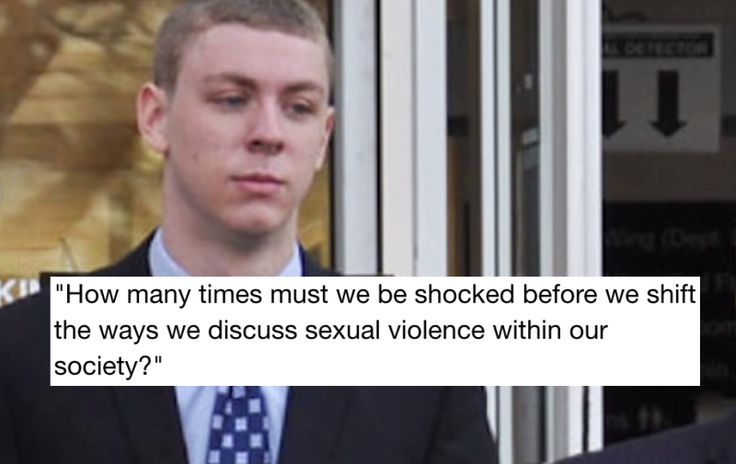 To Everyone Who Is Shocked About The Brock Turner Case:...