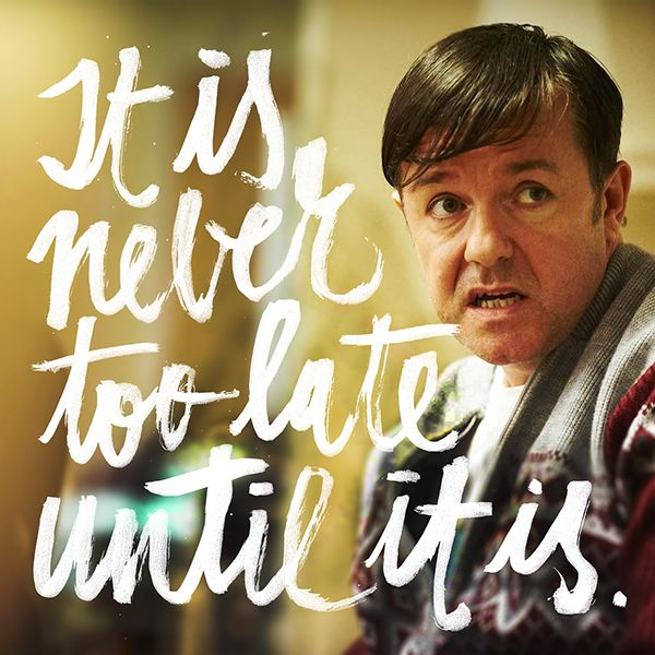 Ricky Gervais' Derek comes to it's Gran Finale on 22nd of December, can't wait to see it on Netflix. Even if it's kinda sad to know, it's still amazing they made this special episode just to close it. #BestSeriesEver