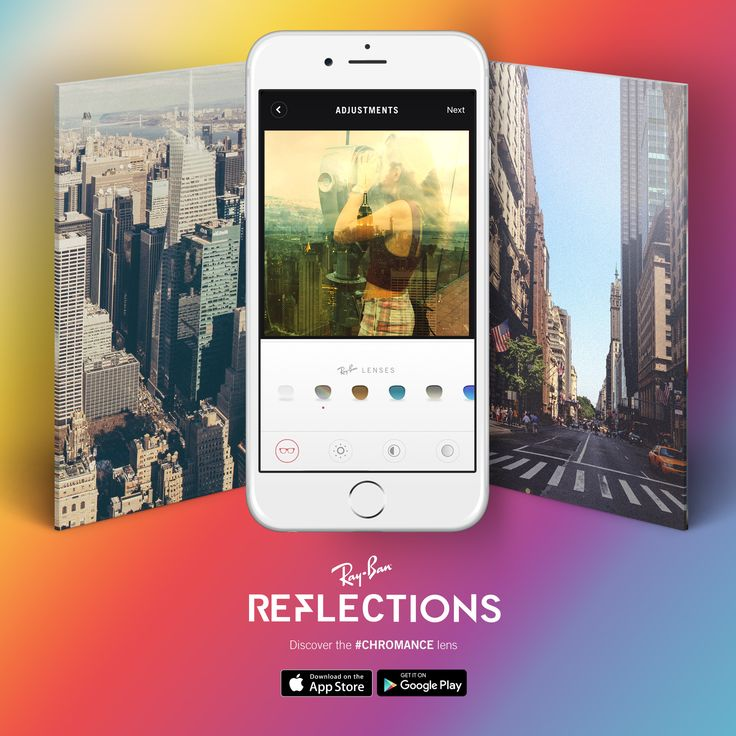 Add warmth and color to photos of your favorite views with the new #Chromance lens // Available free in our #Reflections photo app for iOS and Android