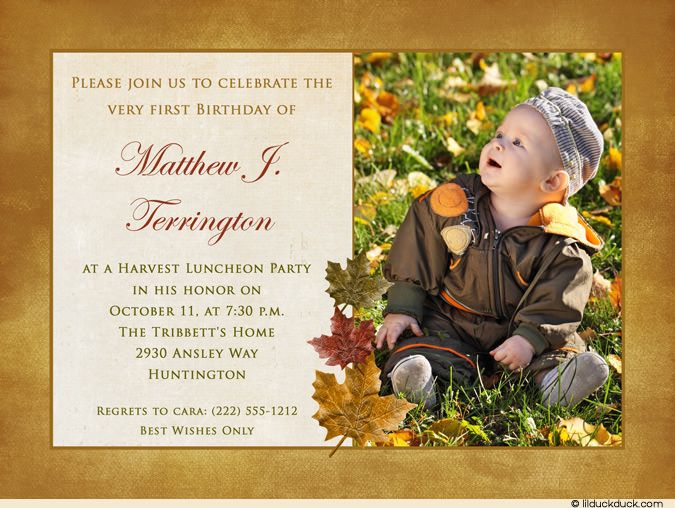 80 best fall party invitations and celebration ideas images on, Birthday invitations