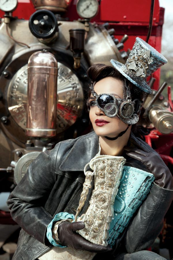 Interview: 'Anatomy Of Steampunk' Author Offers Advice For Steampunk Fashion Beginners [Featured]: Steampunk Fashion, Steampunk Dieselpunk, Design Ali, Cosplay Steampunk, Steam Punk, Ali Fateh, Fateh Steampunk, Steampunk Ish, Provestra Steampunk