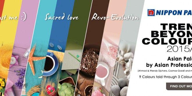 Tren Warna Nippon Paint Terbaru 2015 | 19/12/2014 | Gaya Hidup Nippon Paint luncurkan Trend Beyond Colours 2015/2016 yang merupakan sebuah koleksi tren warna Asia. Koleksi palet warna ini terdiri dari tiga tema dengan sembilan warna serta praktis diaplikasi, ... http://news.propertidata.com/tren-warna-nippon-paint-terbaru-2015/ #properti