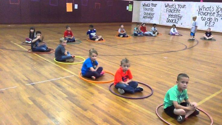 Musical Hula Hoops - A P.E. Game