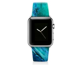 Tie dyed Apple watch band women, Apple watch strap