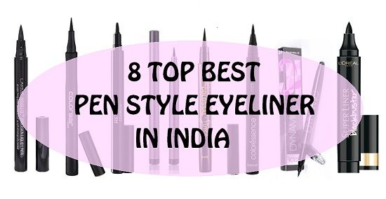 10 Best pen Eyeliners in India with the price