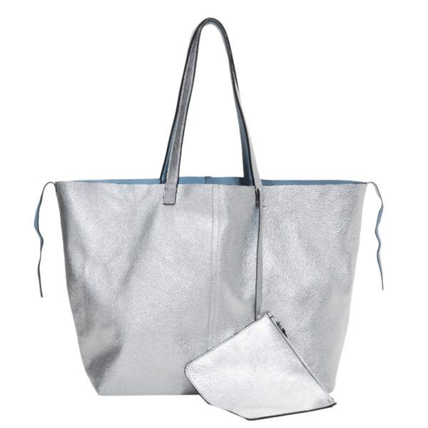 & Other Stories Reversible Leather Shopper