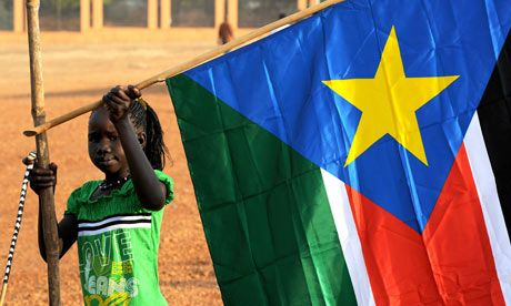 South Sudan Flag <3