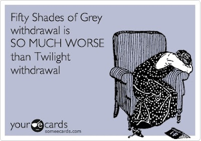 oh this is soo my Twilight...: Friggin Story, Fifty Shades Of Grey, Christian Grey, Movies Music Books Tv, Ecards 3, Funny S Ecards, True, Cards Funny, Start Rereading