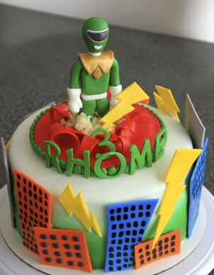 Green Power Ranger Cake