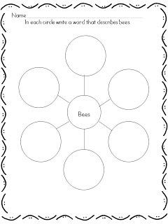 LMN Tree: Buzzing with Honeybee Resources and Activities- Free Adjective Word Web