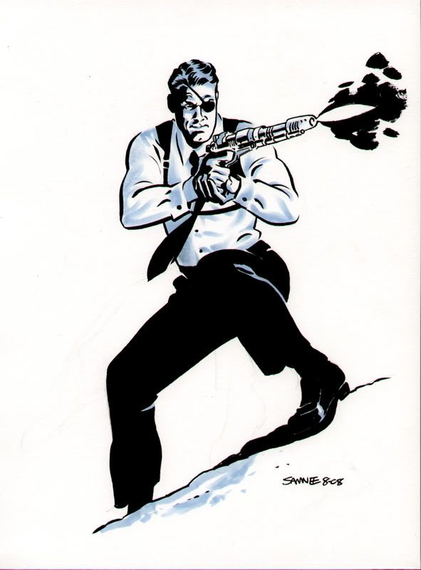 Chris Samnee - Nick Fury
