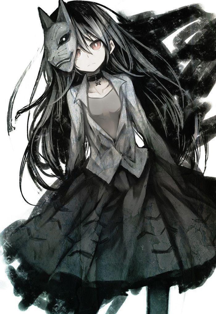Top 25 ideas about dark anime art on pinterest dark - Dark anime girl pics ...