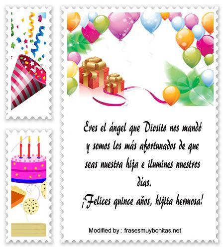 enviar frases para quinceañera por Whatsapp,frases para quinceañera para facebook:  http://www.frasesmuybonitas.net/mensajes-de-quinceanera/