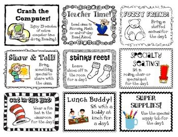 Positive Behavior Reward Ideas