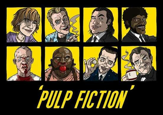Pulp Fiction art work