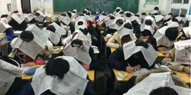 """""""Topi Canggih"""" Anti Mencontek Ala Pelajar Cina"""