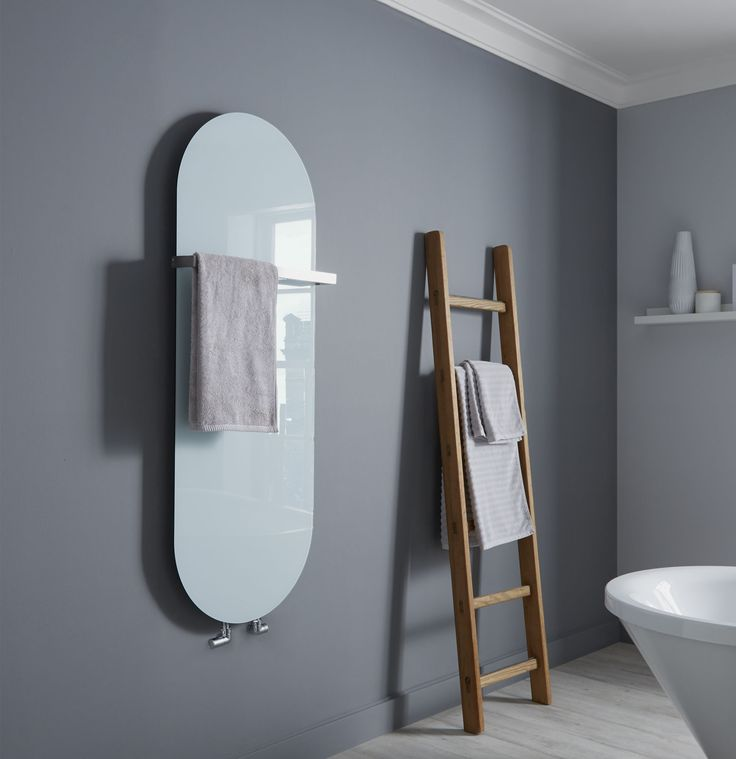 The Towelrads Vetro Wet System designer radiator comes in different sizes depending on the shape of which you would like the radiator. There are 3 colours available for this radiator; Black, White and Mirror. There is a 25 year guarantee included. Priced at £337.68!