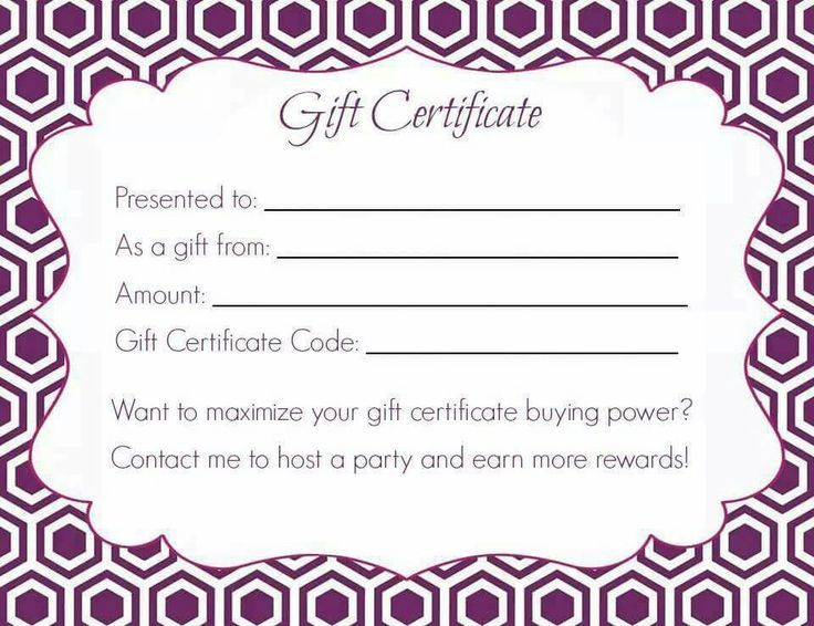 45 best JAMBERRY images on Pinterest Jamberry business, Jamberry - gift certificate blank template