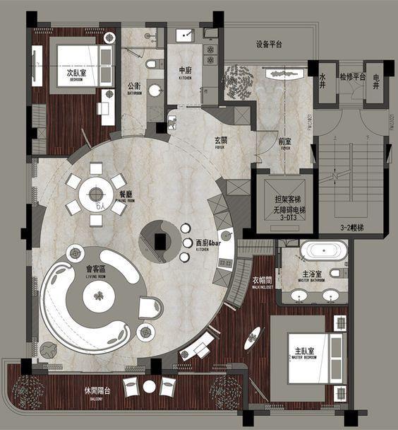 Floor plan style
