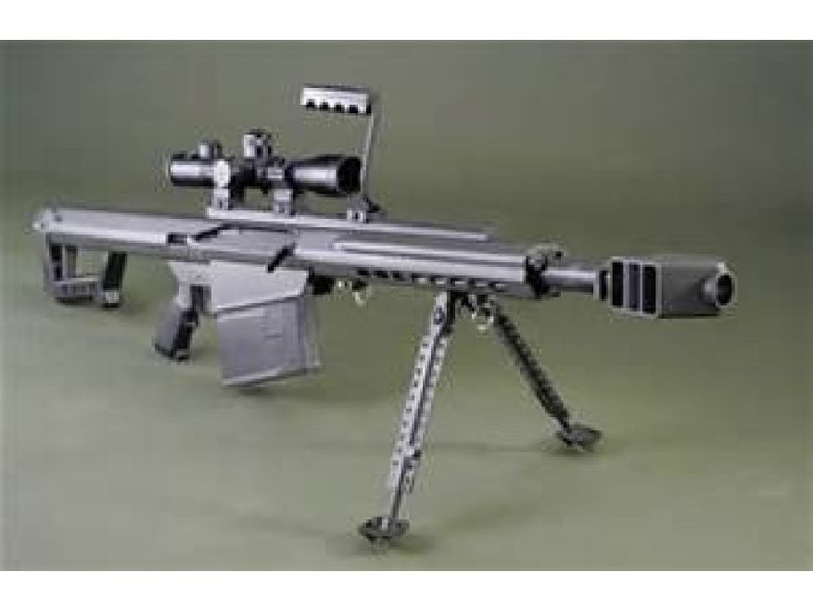 "Barrett 82A1 50 BMG w/ 29"" Fluted Barrel Semi-Auto and Leopold Optics - Long Guns"