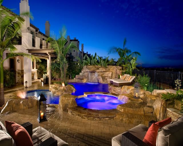 84 best sweet swimming pools hot tubs images on for Pool design orange county